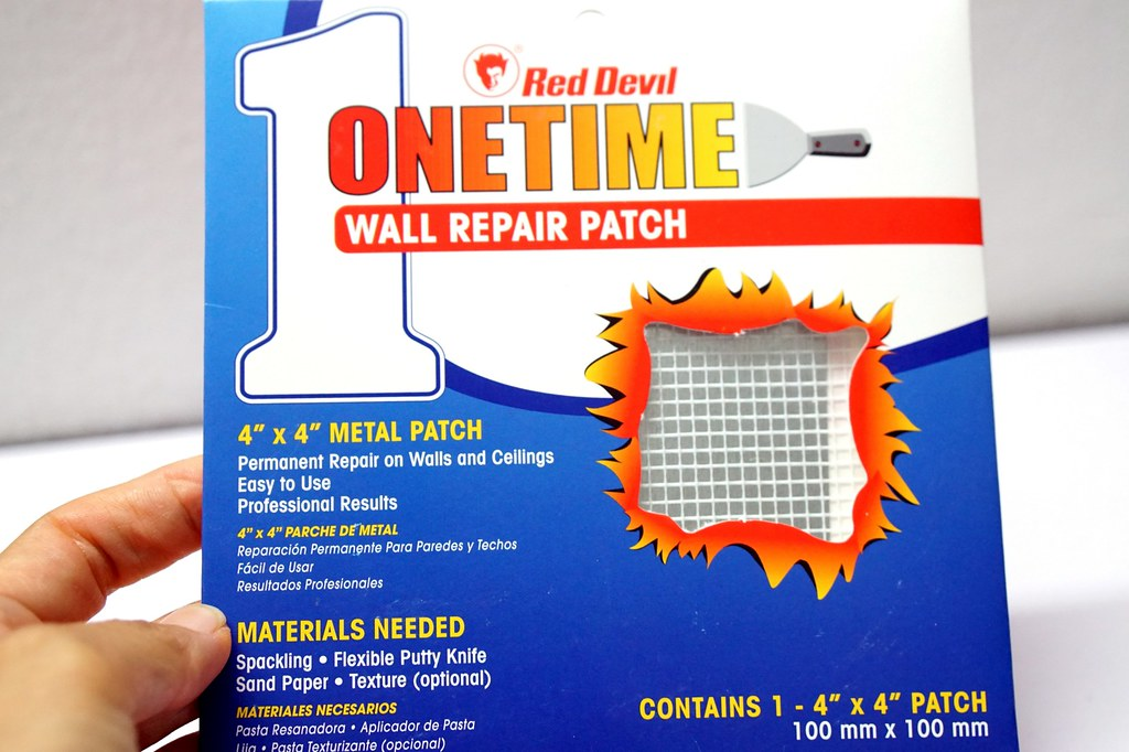 Onetime Lightweight Spackling - for fixing holes at home-003