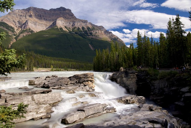 athabasca-falls-at-dusk-jasper-alberta-canada