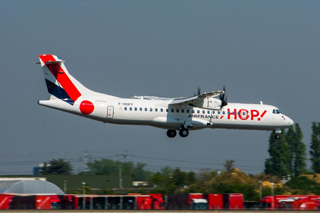 F-HOPY - AT76 - Air France