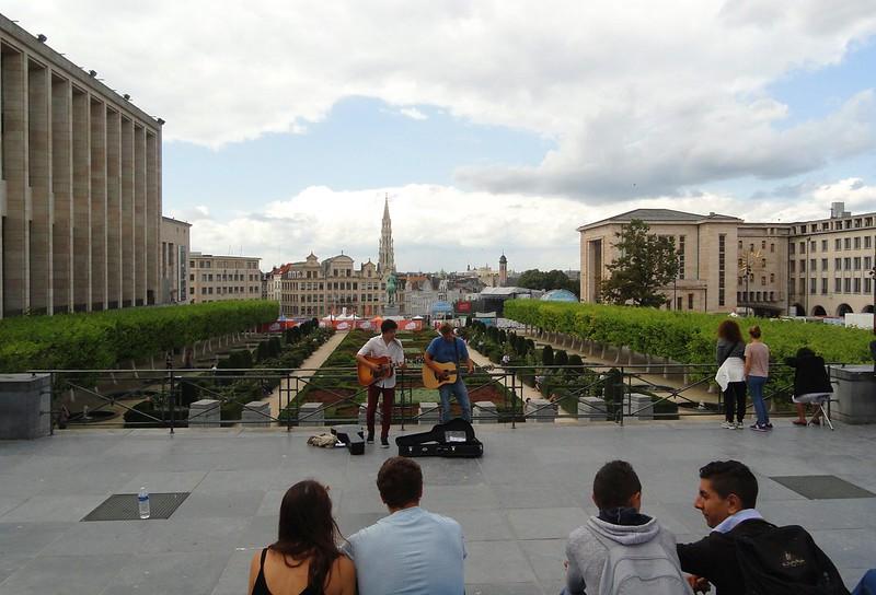 Brussels' street musicians