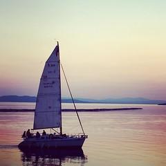 #burlington #vermont waterfront at sunset #lakechamplain