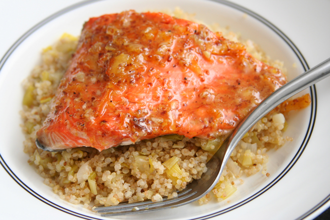 marmalade mustard salmon 6