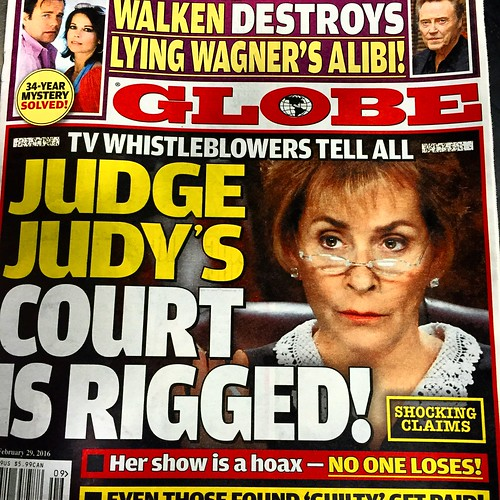 Judge Judy is Rigged