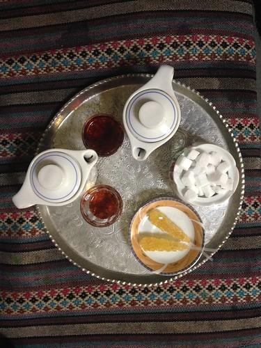 Tea at the Arg Bam Teahouse