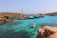 Blue lagoon. Comino, Malta
