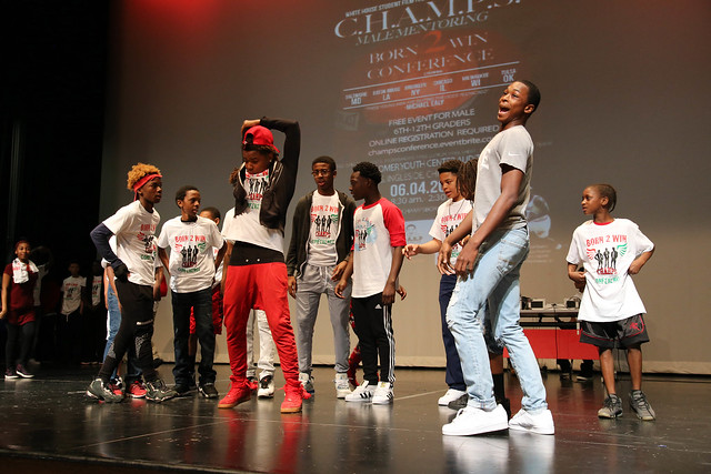CHAMPS MALE MENTORING 1ST ANNUAL BORN 2 WIN CONFERENCE 2016