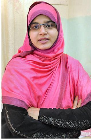 Captain Syeda Salva Fatima