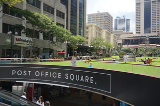 Brisbane's Post Office Square