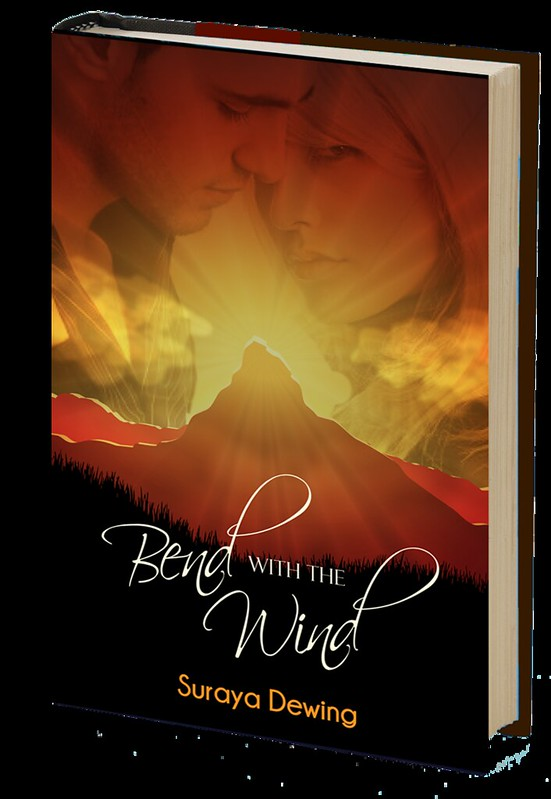 Book Cover Design: Suraya Dewing Bend with the Wind