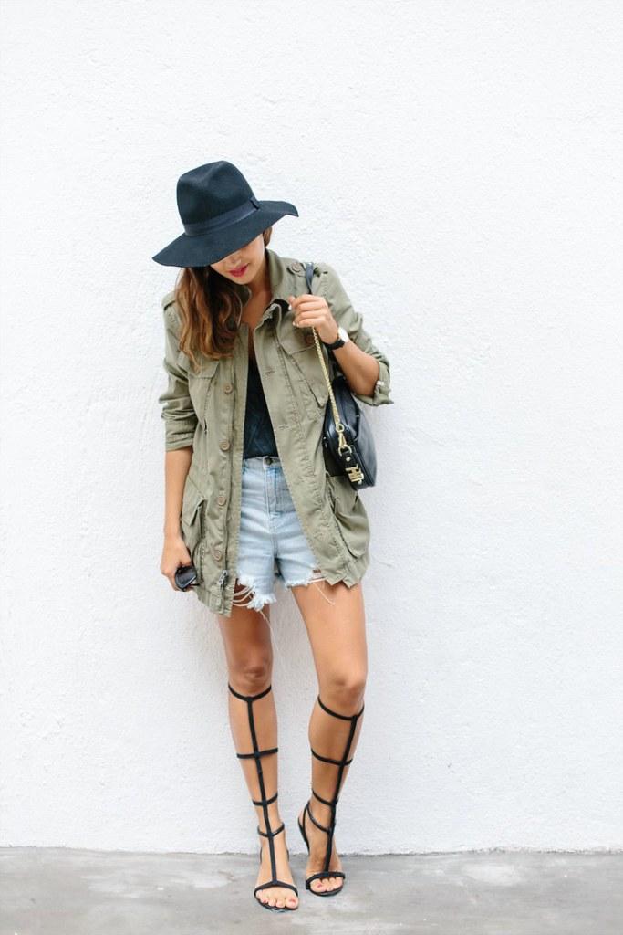 Getting dressed using pinterest