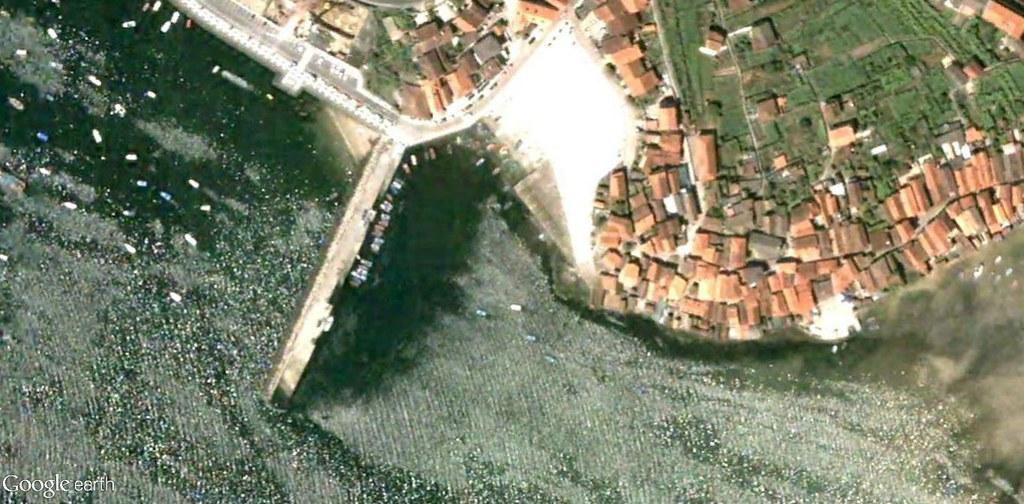 antes, urbanismo, foto aérea, desastre, urbanístico, planeamiento, urbano, construcción,Combarro, Pontevedra