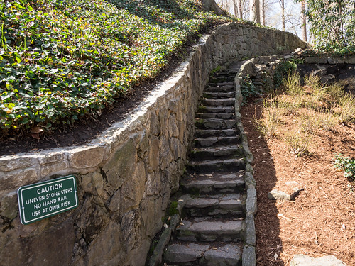 Furman College Way steps - 2