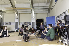 Ah, Wilderness! rehearsal images.