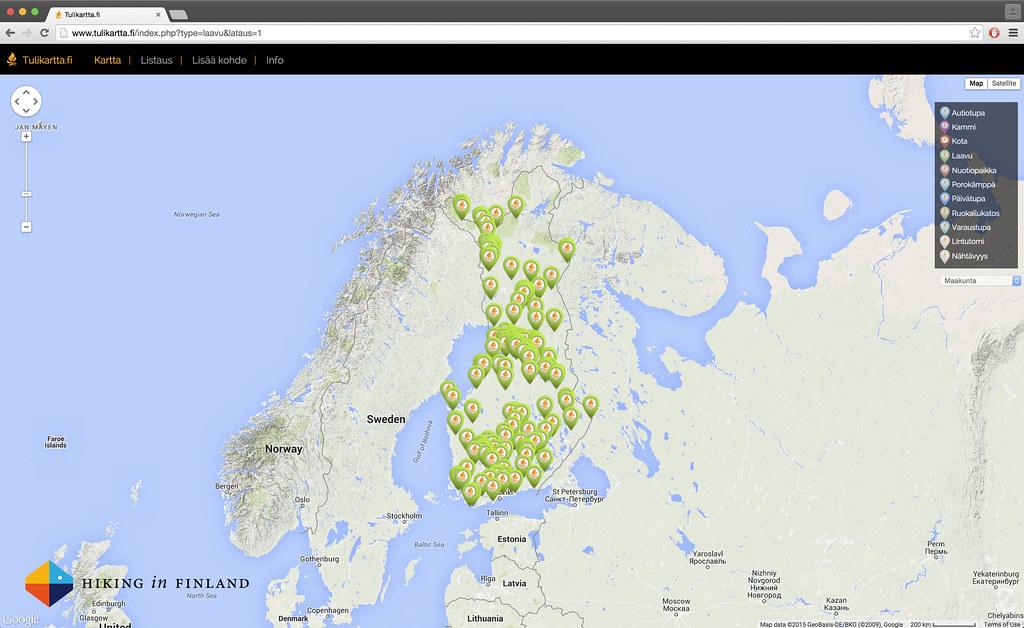 Laavus in Finland