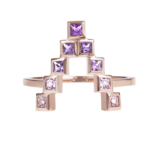 Spectrum Amethyst Ring 2