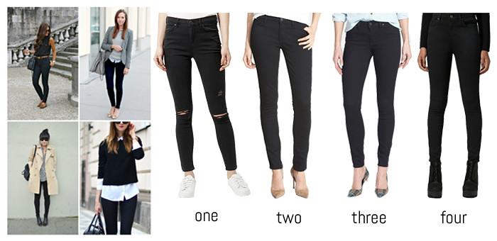 Nordstrom Black Jeans