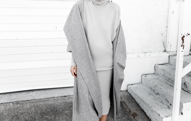 BC x MODERN LEGACY grey on grey oversized coat knit coord street style fashion blog (1 of 1)