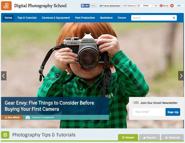 Digital Photography School - Digital Photography Tips and Tutorials