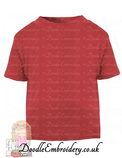 T-shirt - Red copy