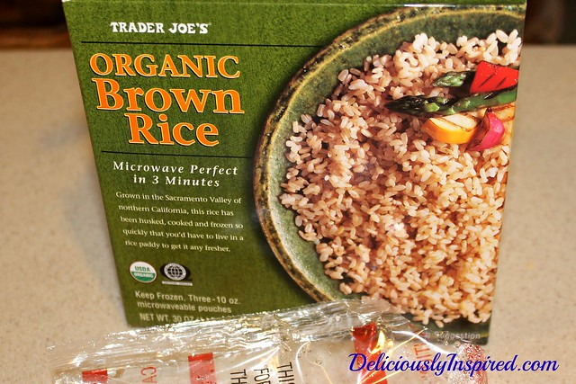 Asian Breakfast Bowl - Trader Joe's Brown Rice