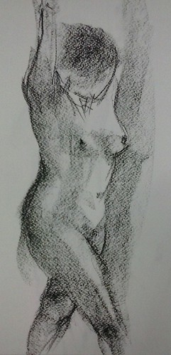 Fwd: life drawing by dibujandoarte