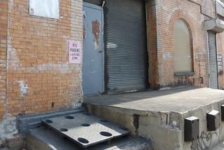 Waldorf Bakery loading dock, East 135 Street, Bronx