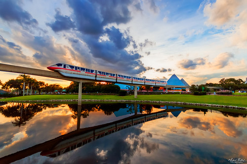 colors clouds reflections photography orlando epcot nikon florida sunsets disneyworld monorail wdw waltdisneyworld resorts kissimmee hdr amusementparks nikond3200 disneyparks disneyphotography pinnaclephotography disneyphotoblog
