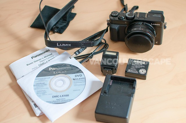 Panasonic Lumix DMC-LX100/unboxing