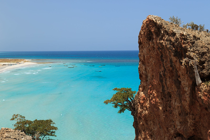 Socotra old sea port