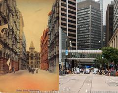中環遮打道近皇后像廣場1910年