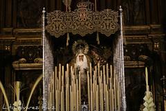 Virgen del Dulce Nombre en su paso de palio - Marzo 2015