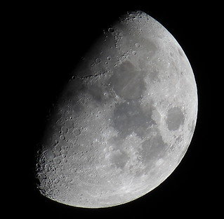 Waxing Gibbous, 67% of the Moon is Illuminated taken on March 28, 2015 with a Canon SX50 HS IMG_2690