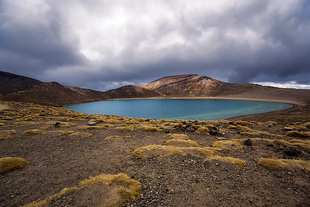 Blue Lake - Tongariro Alpine Crossing, New Zealand.