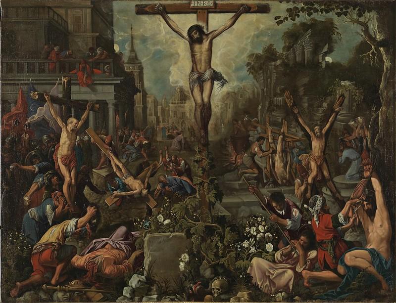 Juan de Roelas (attrib.) - Cristo esempio dei martiri (c.1615)