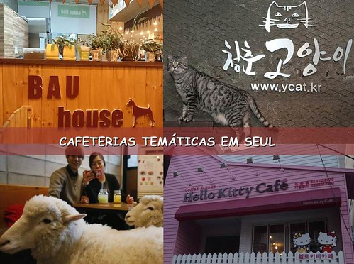 CAFES EM SEUL