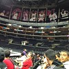 Stupid #Clippers posters covering the 16x #Lakers Champ banners BOOO!! by hailtothetheif83