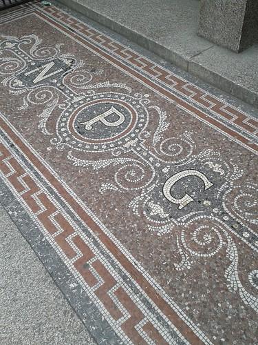 National Portrait Gallery Entranceway Mosaic