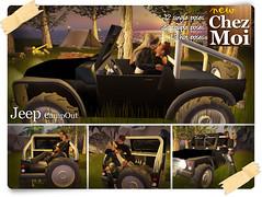 Jeep CampOut ♥ NEW CHEZ MOI FURNITURES