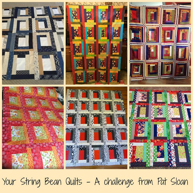 pat sloan string bean challenge quilts by you 1
