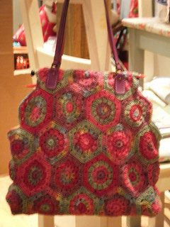 Crochet bag - finished!