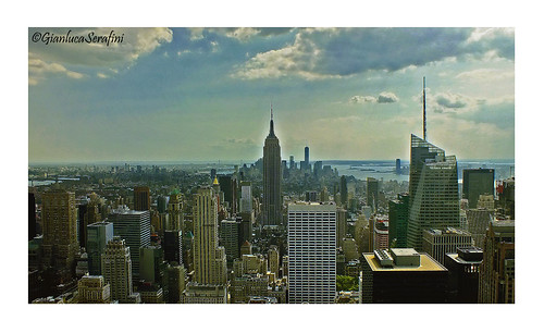 On the top of the world. NYC