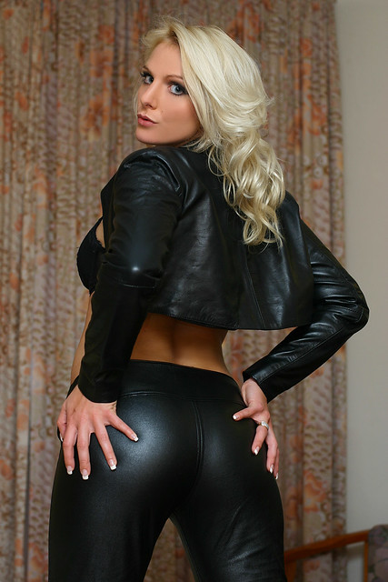 leather blondes