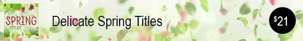Spring Titles
