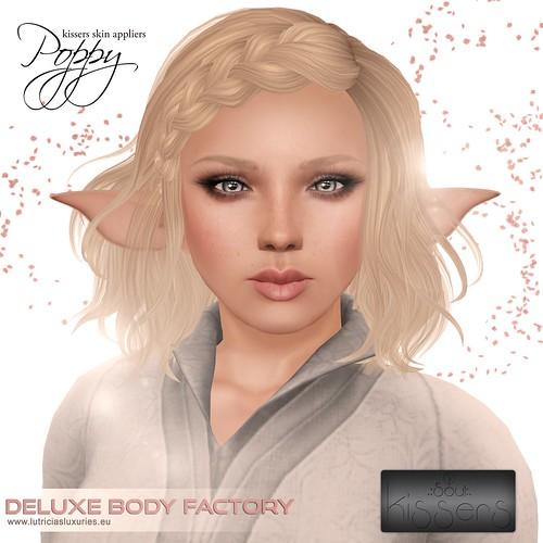 [DBF] Kissers appliers Poppy skin line