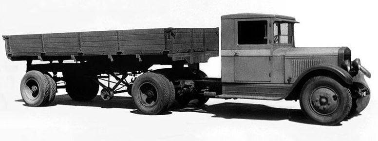 Тягач ЗиС-10 появился как продолжение ЗиС-5