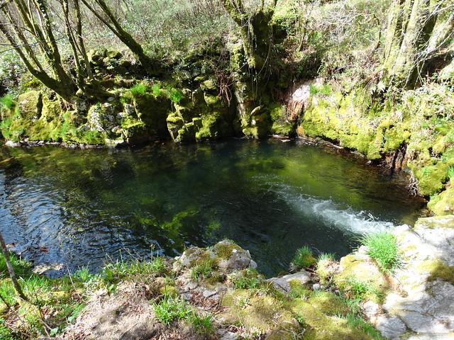 Pozo Negro en el río Barbeira en A Lama