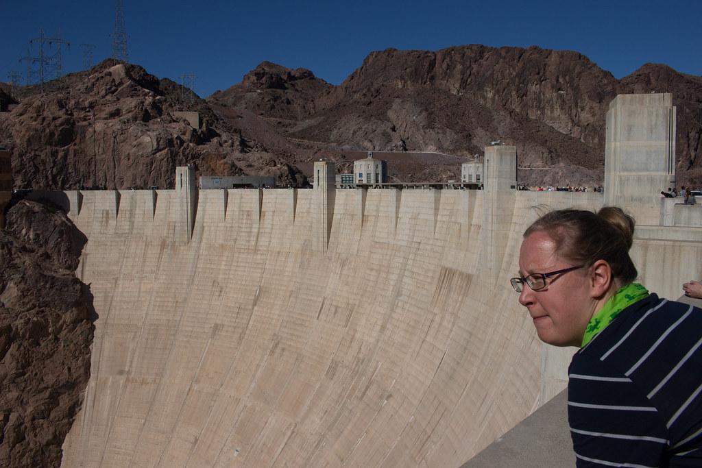 Hooverin pato, Nevada, USA