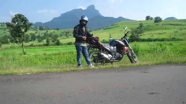 Riding in Sahyadris