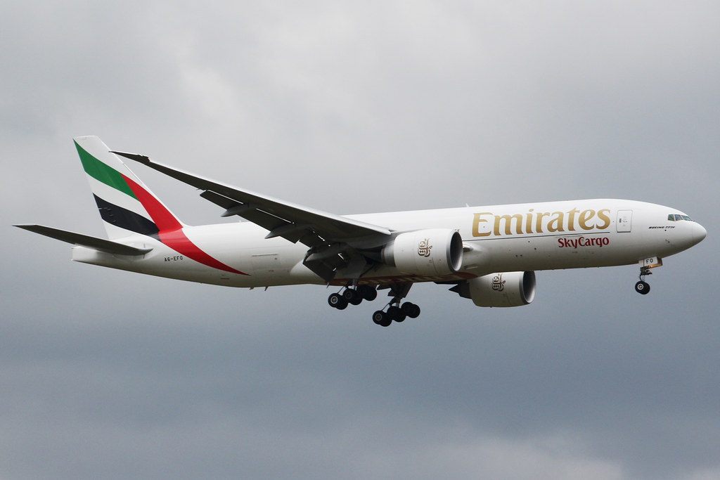 A6-EFO - B77L - Emirates