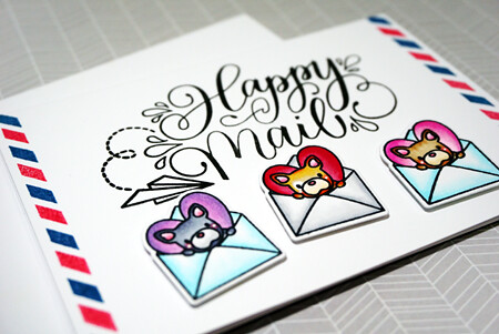 SH - Happy Mail - Close Up